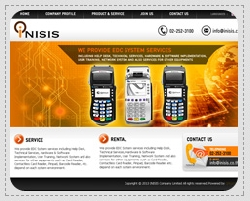 Portfolio: Website for corporate, e-business, e-commerce. INISIS Company Limited